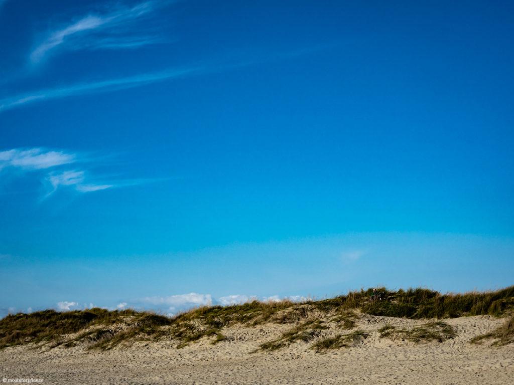 Düne, Himmel, Blau, Strand, Harmonie, Wolken, Friede
