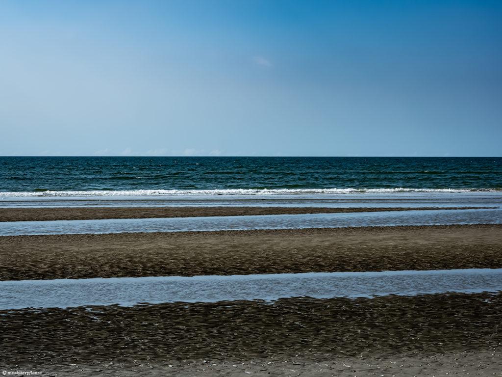 Meer, Wasser, Wellen, Blau, Sand, Strand, Himmel, Sandbänke, Licht, Meerschaum