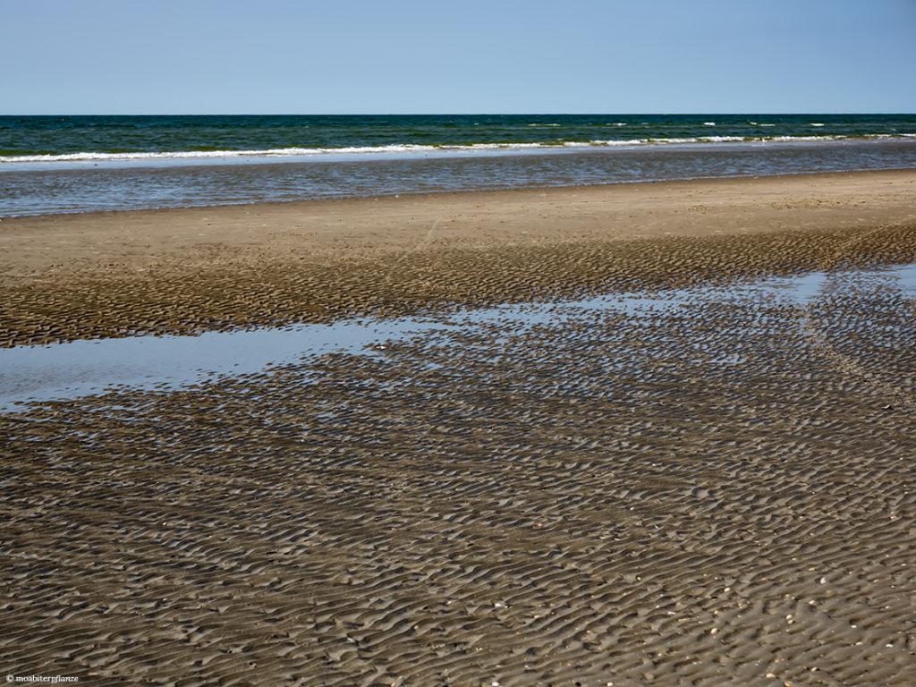 Sand, Strand, Meer, Wellen, Blau, Himmel, Licht